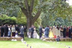 Trauung im Park
